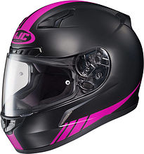HJC CL-17 Streamline Integral Helmet, black/pink, M