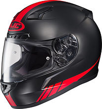 HJC CL-17 Streamline Integral Helmet, black/red, XL