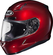 HJC CL-17 Integral Helmet, red, M