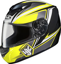 HJC CS-R1 Seca Integral Helmet, yellow, L