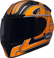 BELL Vortex Damage Integral Helmet, orange, S