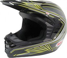 BELL SX-1 Sonic Off Road Helmet, black/yellow/grey, L