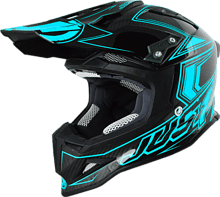 Just1 J12 Fluo Off Road Helmet, blue, XS