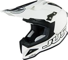 Just1 J12 SOLID Off Road Helmet, white, L