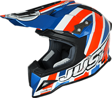 Just1 J12 Union Jack Off Road Helmet, red, L