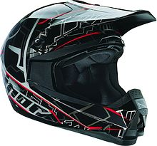 Thor Quadrant Fragment Off Road Helmet, black, L