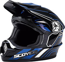 Scoyco MHM001 Off Road Helmet, blue, 2XL