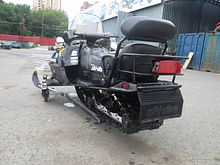 SKI DOO 2UP GRAND TOURING 500 видео СН115  (art-00115668) 7