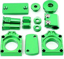 Styling Kit Kawasaki KXF250 2004-2007 green