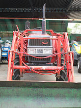 Трактор YANMAR FX22D WITH FRONT BUCKET