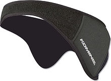 Komine AK-332 Neoprene ear warmer, black