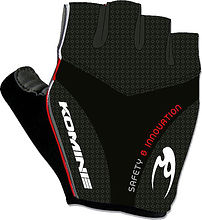 Komine GKC-004 Cycling gloves , black, S