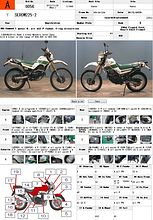 YAMAHA SEROW 225 описание NMB8906  (art-00122876) 3