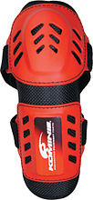Komine SK-463 OFF elbow  protectors, red, free
