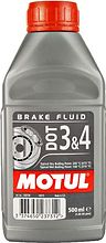 Motul brake fluid DOT 4 Brake Fluid & 3, 0.5 l