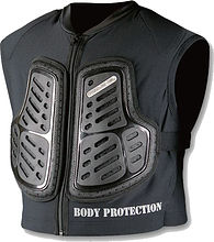 Komine SK-620 Protection inner vest, black, L