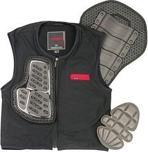 Komine SK-673 Body protection liner vest, black, 2XL