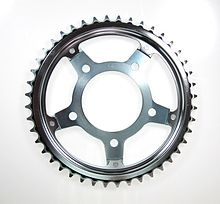 41200-MFM-000 SPROCKET COMP,FIN Honda